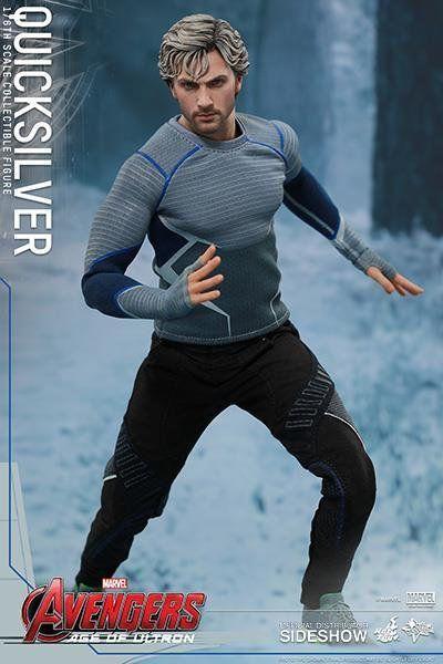 Boneco Mercúrio (Quicksilver): Vingadores Era de Ultron (Age Of Ultron) Escala 1/6 (MMS302) - Hot Toys - CG