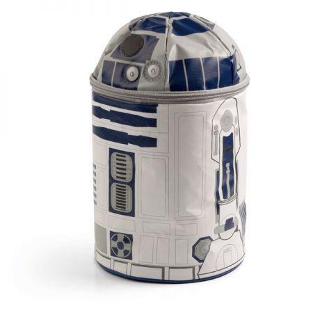 R2-D2 Star Wars Bolsa Térmica com Som - ThinkGeek