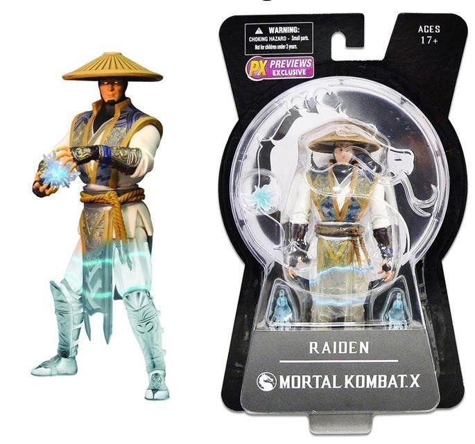 Raiden Mortal Kombat X Variant - Mezco