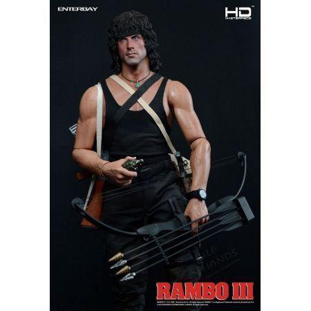Action Figure Rambo: Rambo III (Boneco Colecionável) Escala 1/4 - Enterbay - CG