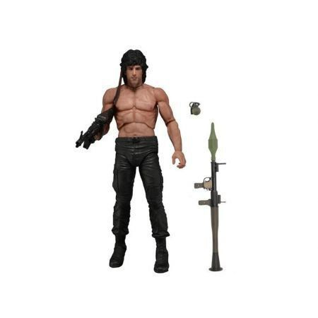 Rambo Series 01 First Blood Part II - Neca