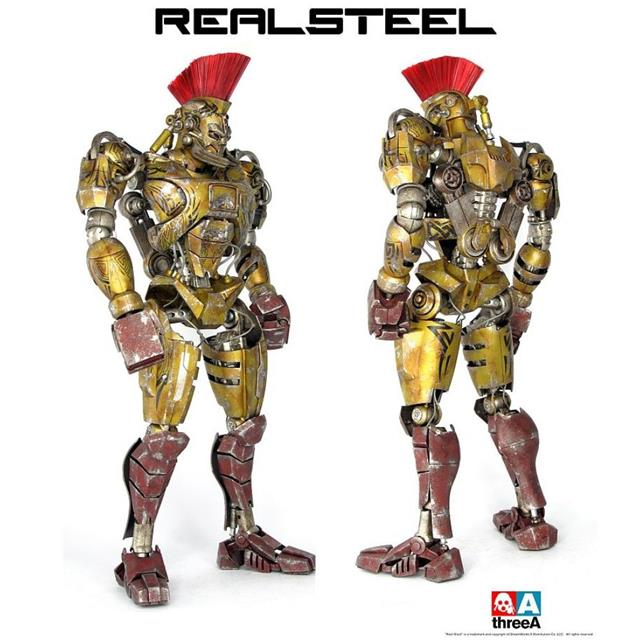 Action Figure Midas: Real Steel (Escala 1/6) - ThreeA
