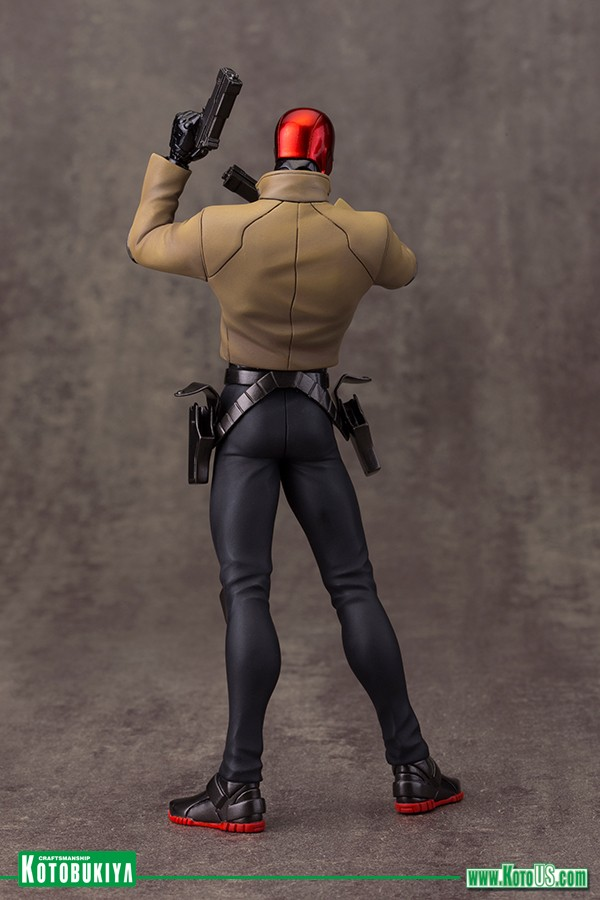 Estátua Capuz Vermelho (Red Hood): DC Comics Os Novos 52 (New 52) Artfx+ Statue Escala 1/10 - Kotobukiya - CD