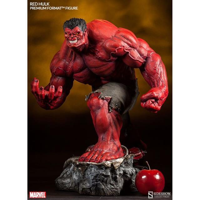 Red Hulk Premium Format (Estátua) - Sideshow