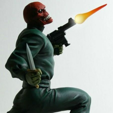 Red Skull Action Statue - Bowen Designs