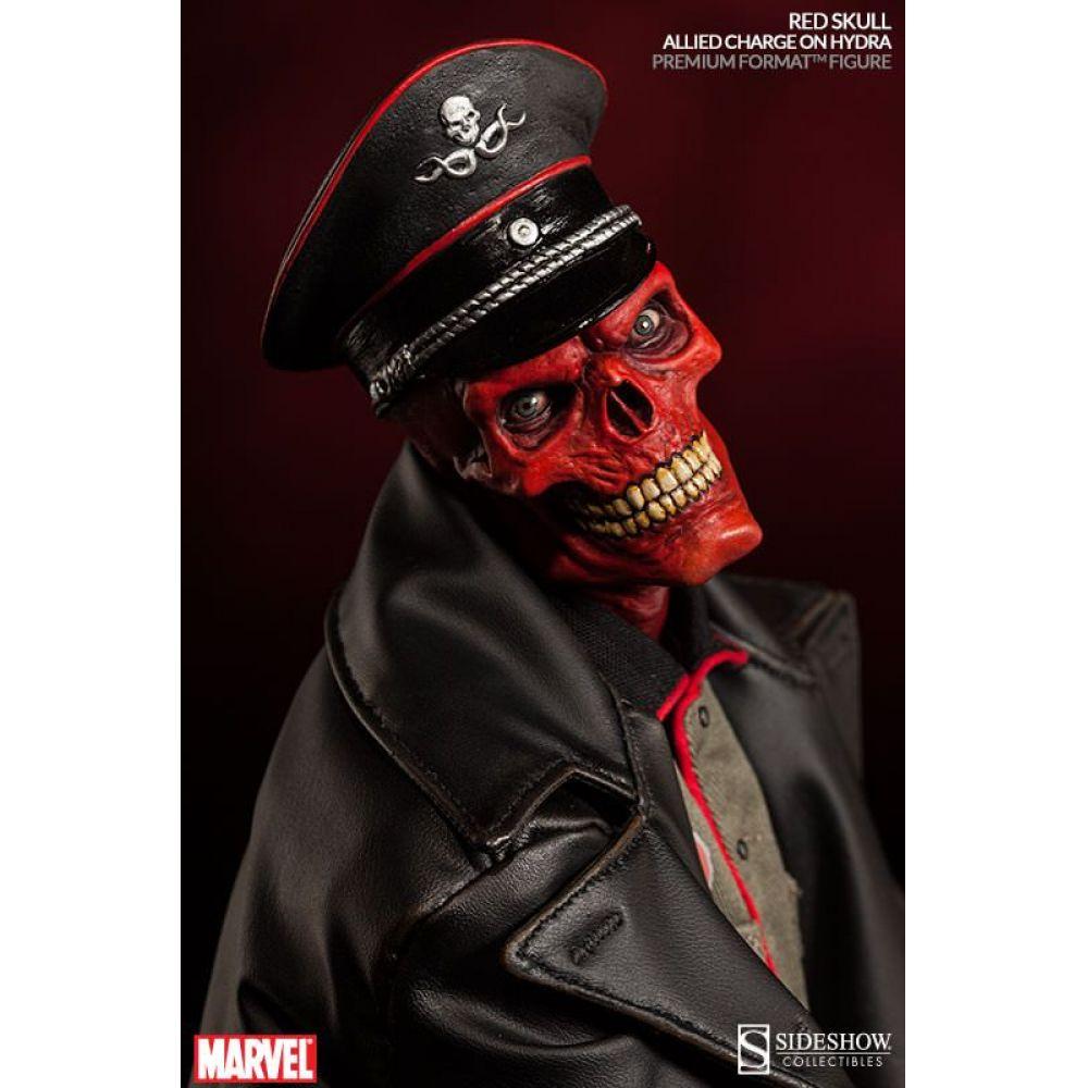Red Skull (Caveira Vermelha) Premium Format Statue - Sideshow