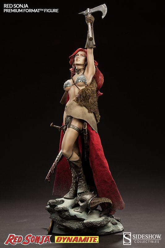 Estátua Red Sonja: Conan o Bárbaro (Conan the Barbarian) Premium Format - Sideshow