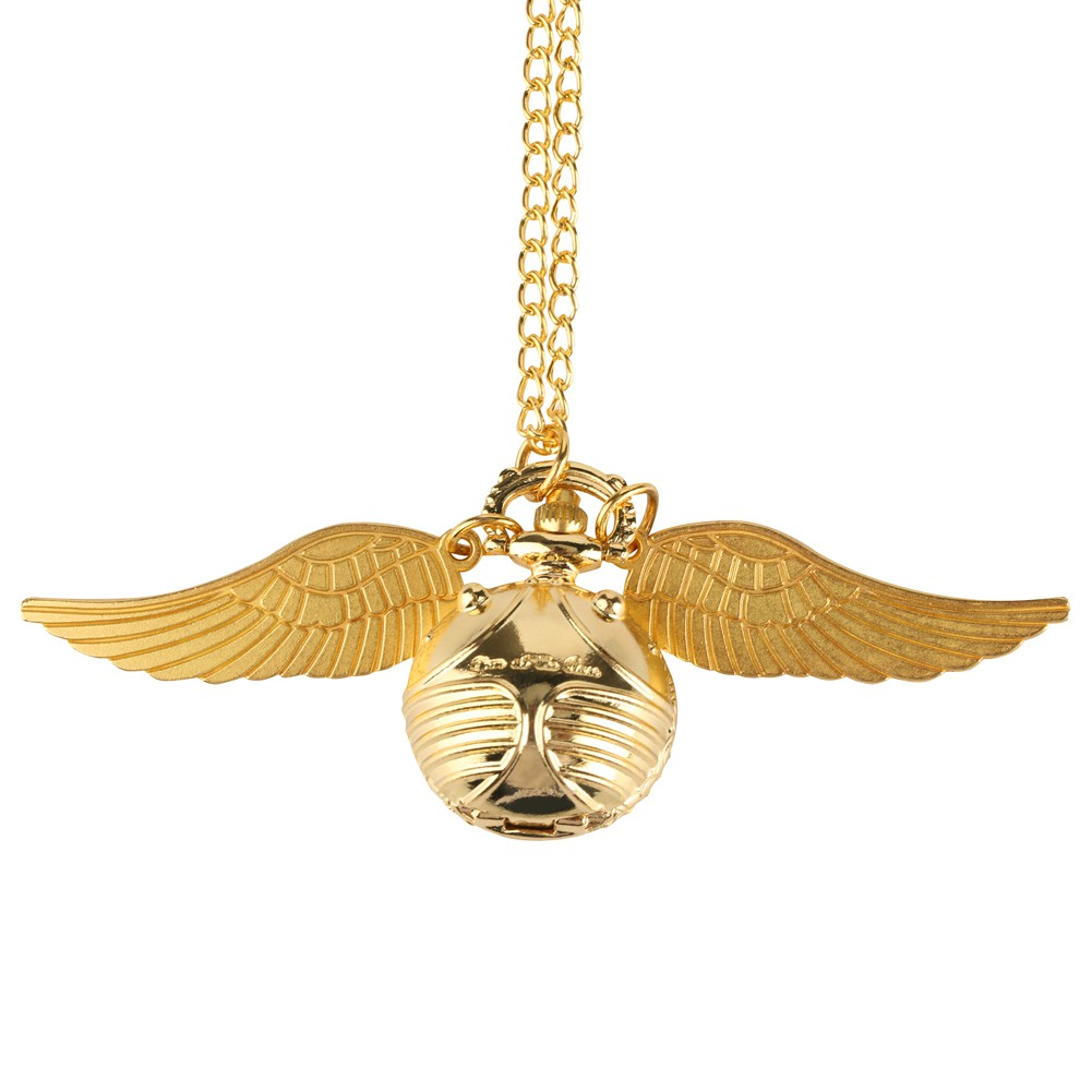 Relógio De Bolso Pomo de Ouro (Dourado): Harry Potter