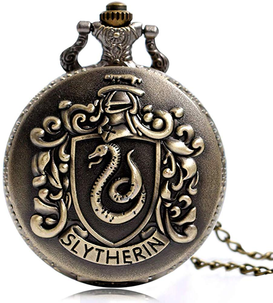Relógio De Bolso Sonserina (Slytherin): Harry Potter