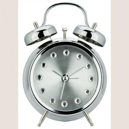 Relógio de Mesa Metal Diamond Pequeno