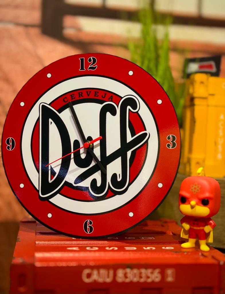Relógio de Parede - Cerveja Duff