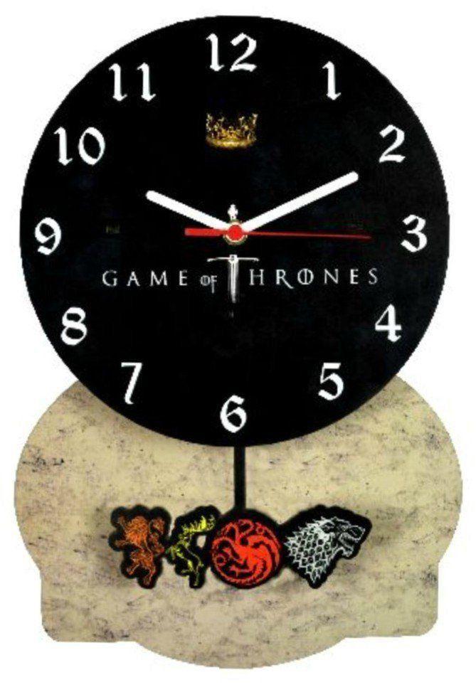 Relógio de Parede com Pêndulo Game of Thrones
