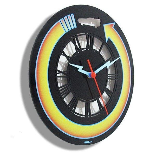 Relógio de Parede de Volta Para o Futuro - Back To The Future -EV