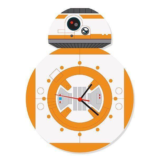 Relógio de Parede Dróide 8 (BB-8)