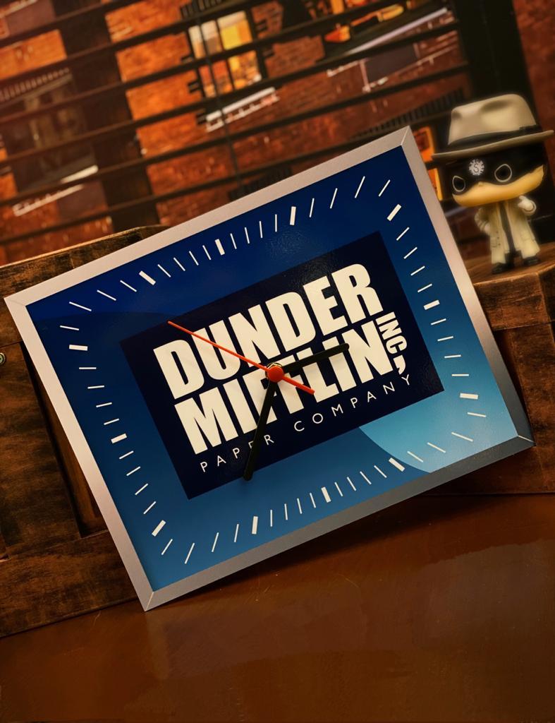 Relógio de Parede Dunder Mifflin Inc Paper Company: The Office - EV