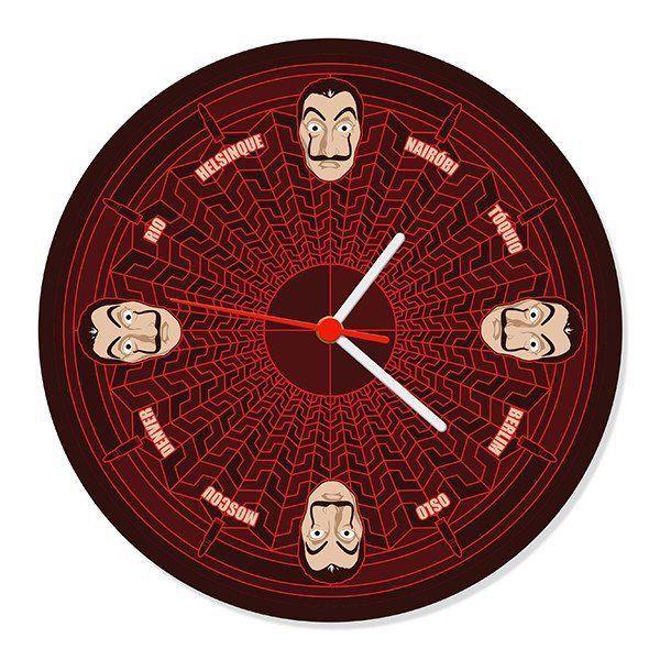 Relógio de parede La Casa - La Casa de Papel