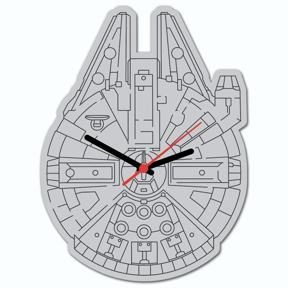 Relógio de Parede: Millenium Falcon ( Star Wars )