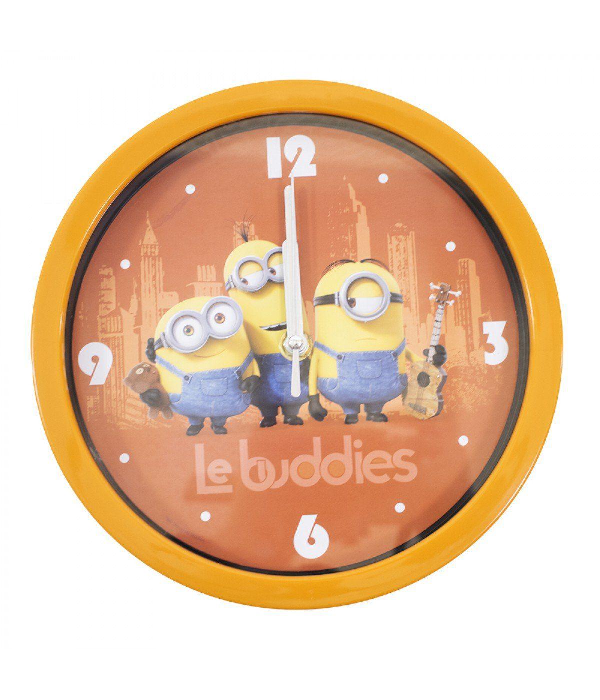 Relógio de Parede Minions (Le Buddies): Meu Malvado Favorito