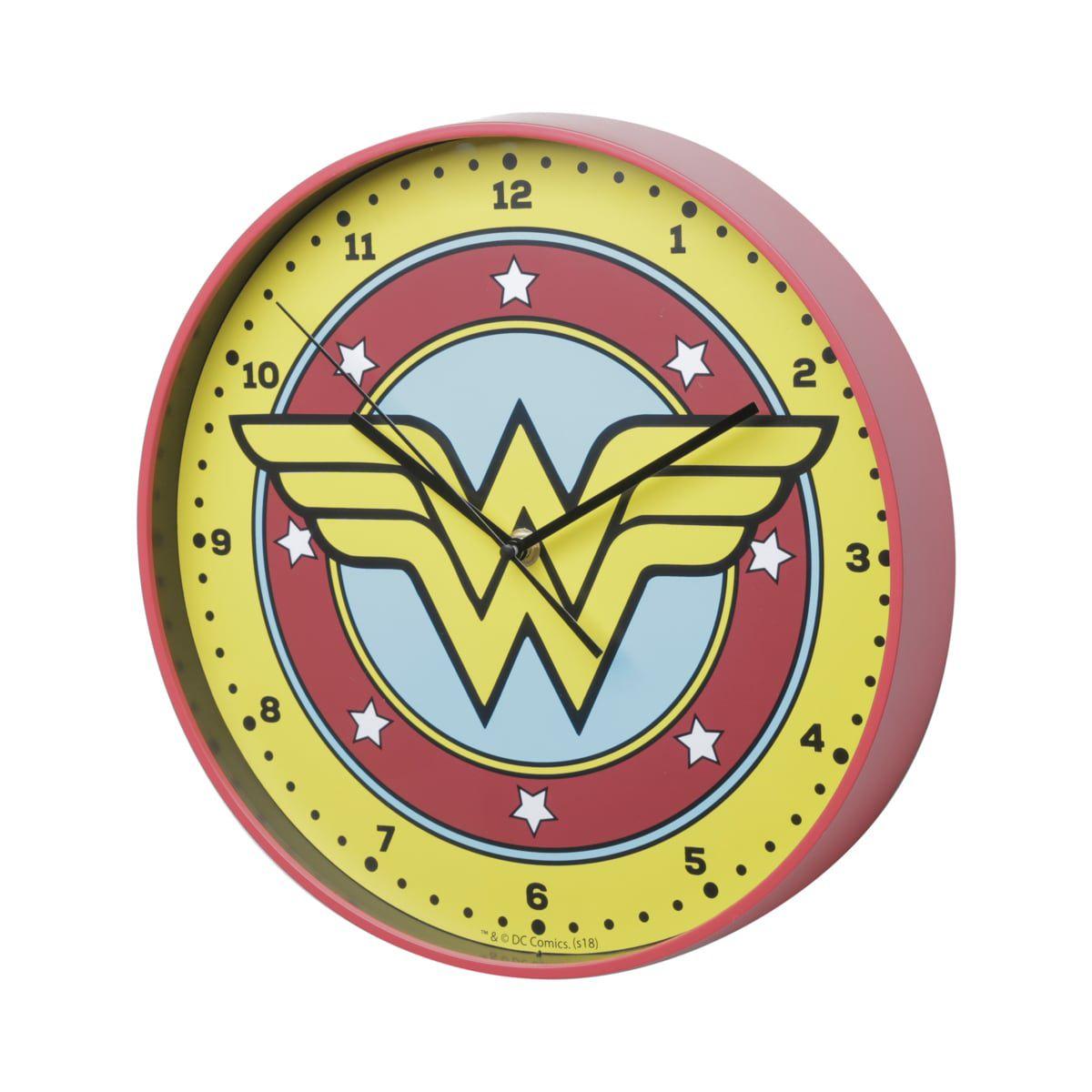 Relógio de Parede Mulher-Maravilha (Wonder Woman) - Urban