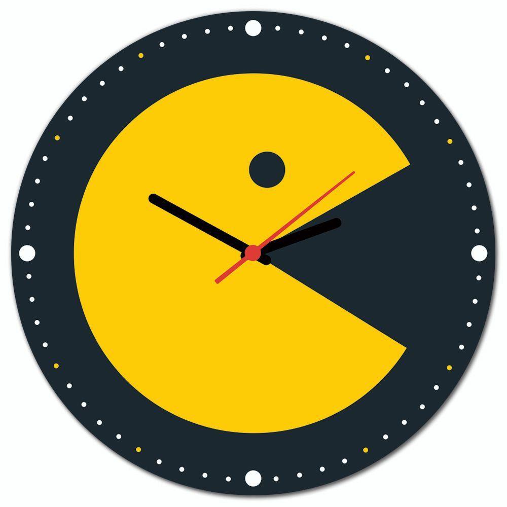 Relógio de Parede Pac-Man: Pac-Man