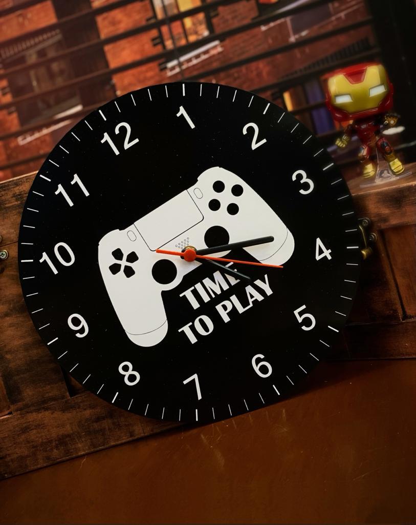 Relógio de Parede Time To Play (PlayStation 4)