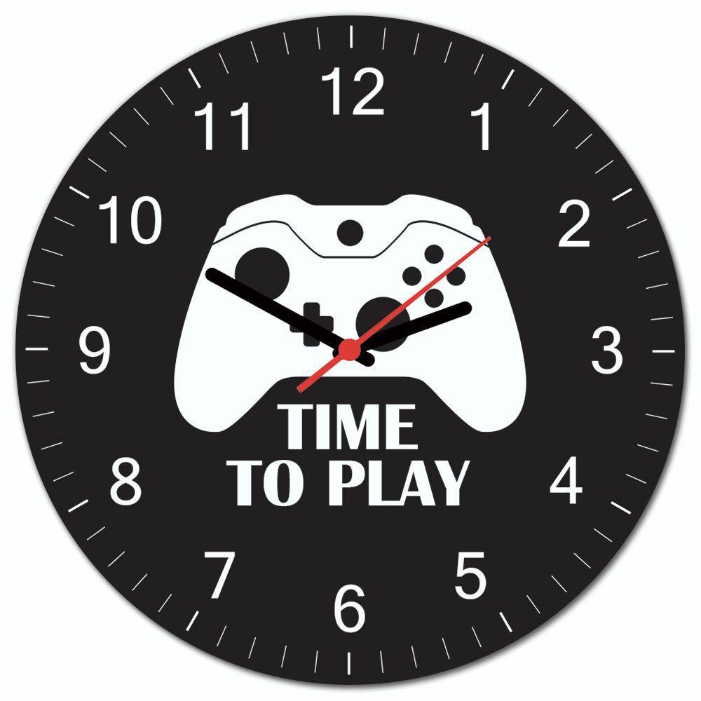 Relógio de Parede Time To Play (Xbox One) - EV