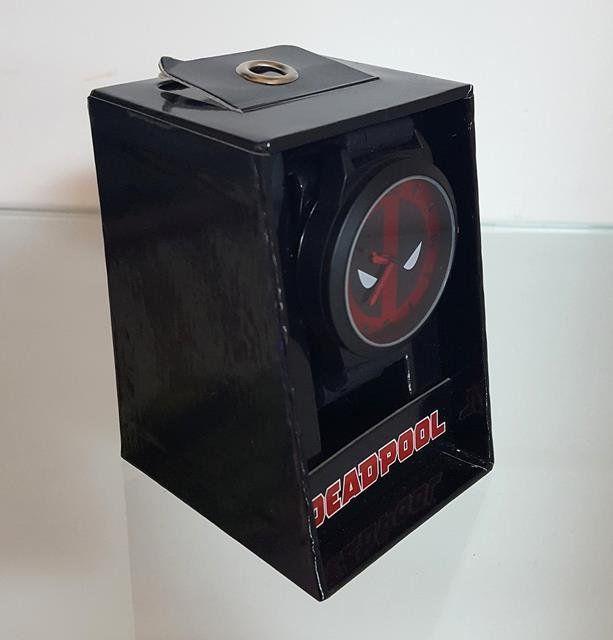 Relógio de Pulso Deadpool Logo - Accutime