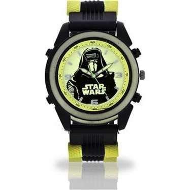 Relógio de Pulso Glow In The Dark Star Wars: Kylo Ren - Accutime