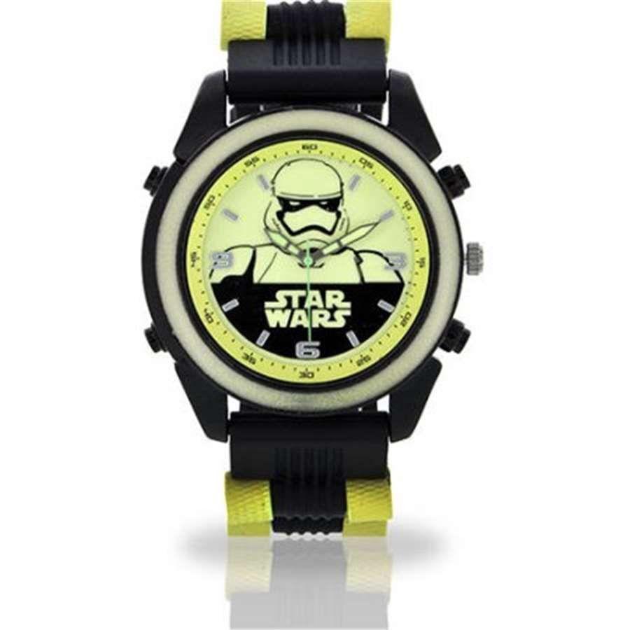 Relógio de Pulso Glow In The Dark Star Wars: Stormtrooper - Accutime
