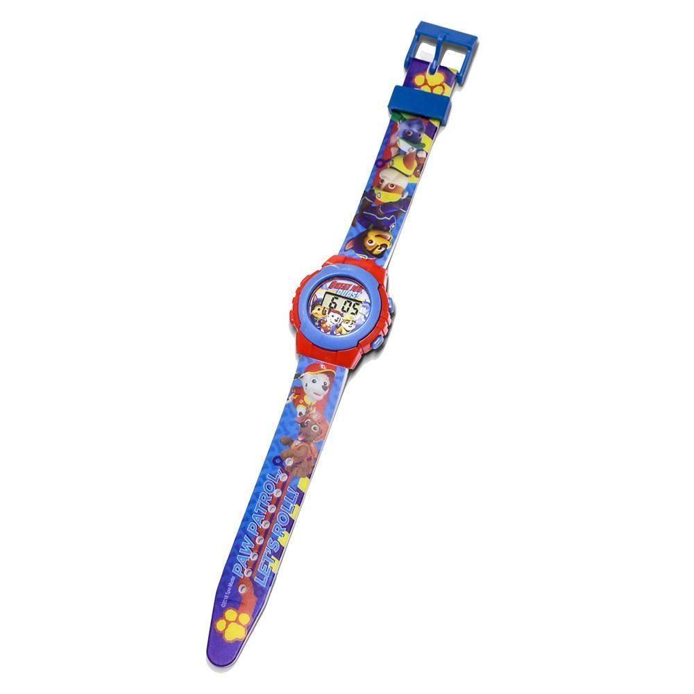 Relógio de Pulso Infantil (Digital) Patrulha Canina (Azul)