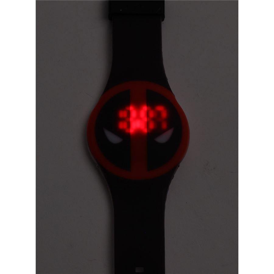 Relógio de Pulso LED Deadpool - Accutime