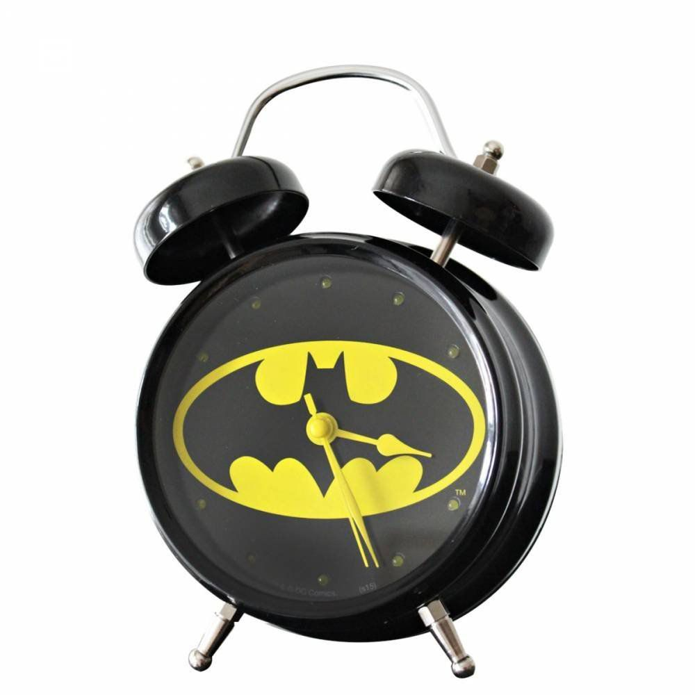 Relógio Despertador Batman - Dc Comics