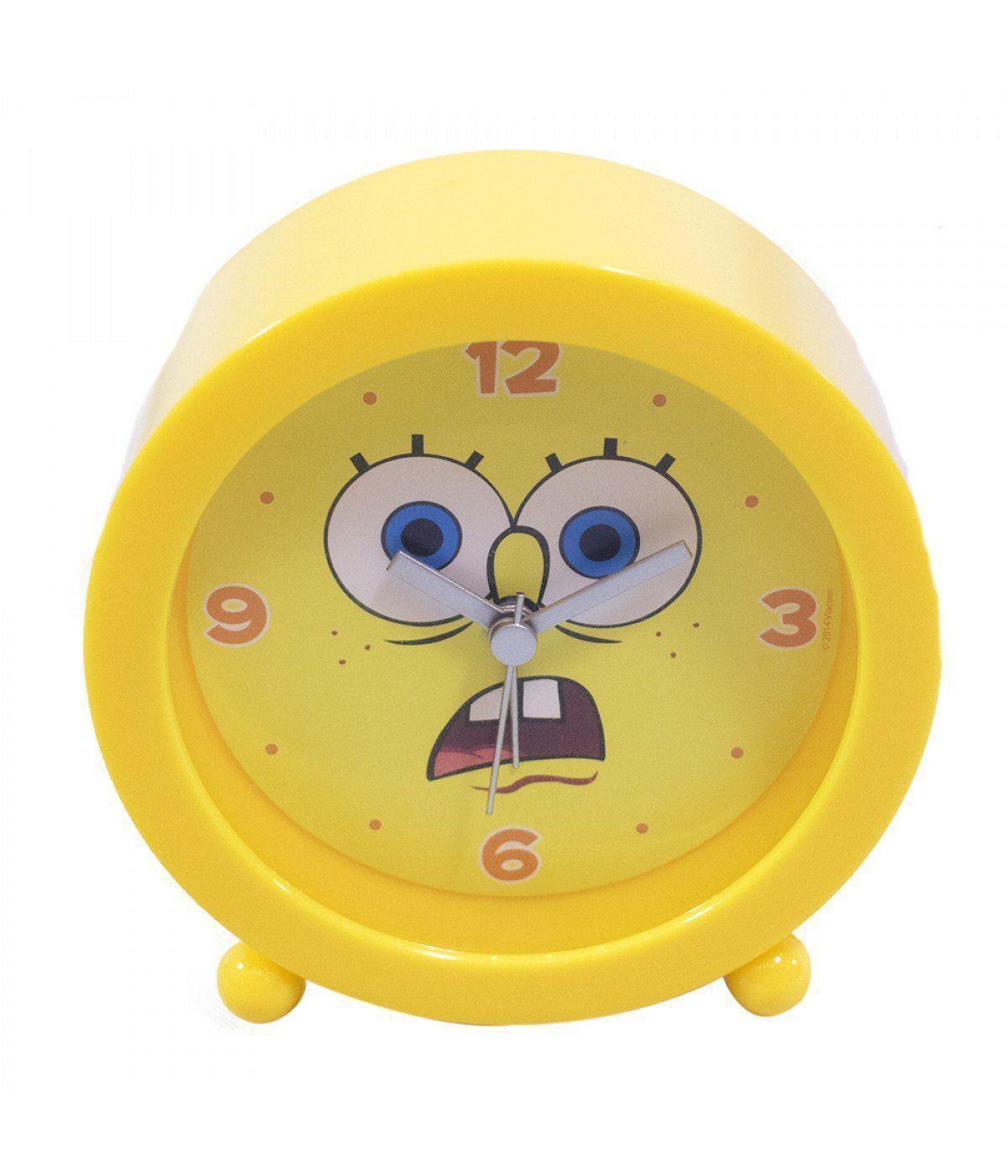 Relógio Despertador Bob Esponja (Assustado): Bob Esponja