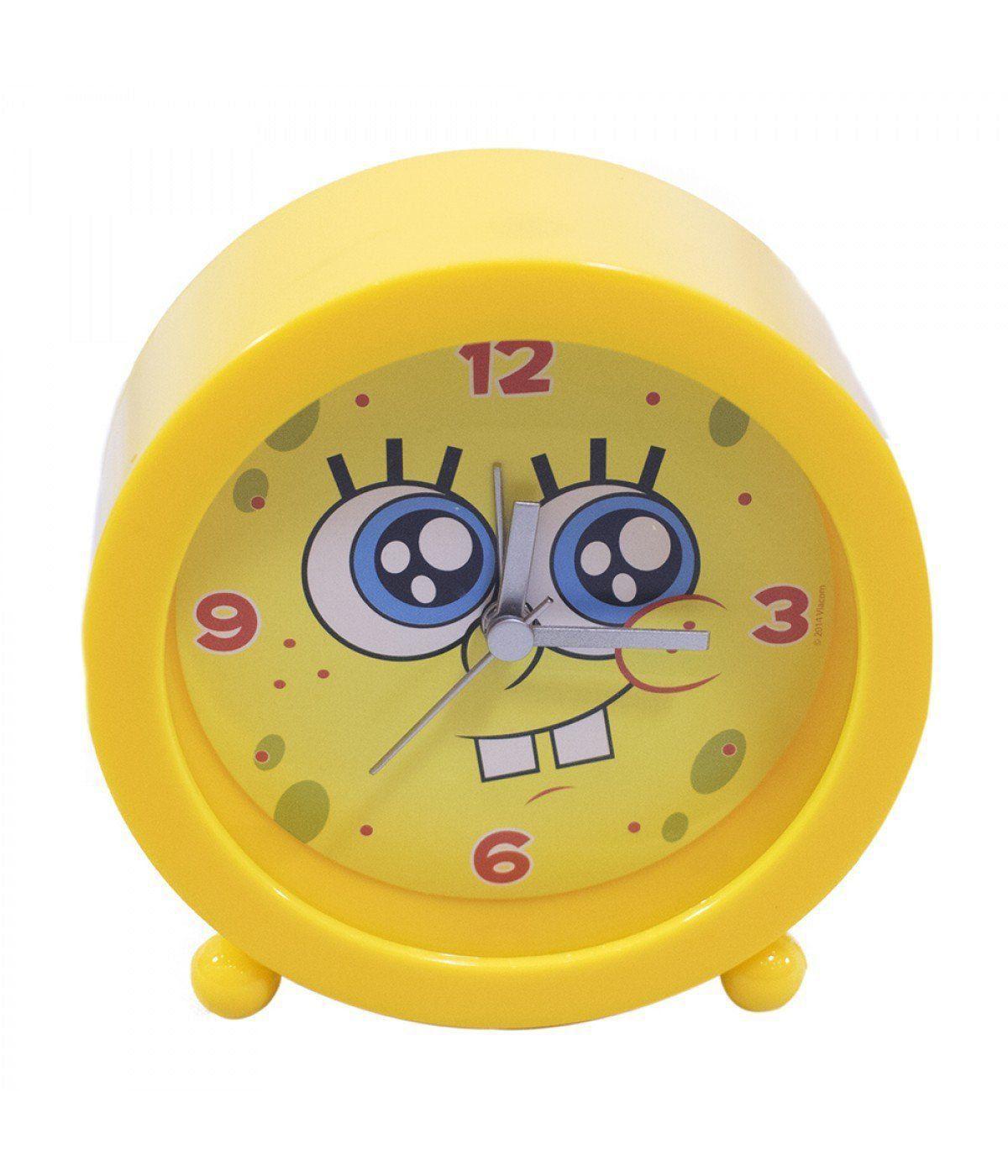 Relógio Despertador Bob Esponja (Sorrindo): Bob Esponja