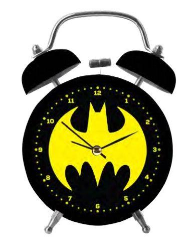 Relógio Despertador Logo Batman: DC Comics