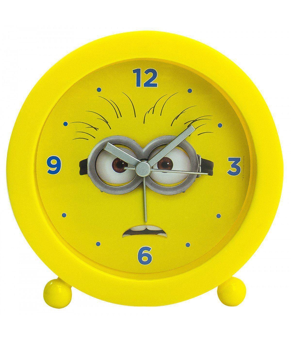 Relógio Despertador Minions (Assustado): Meu Malvado Favorito