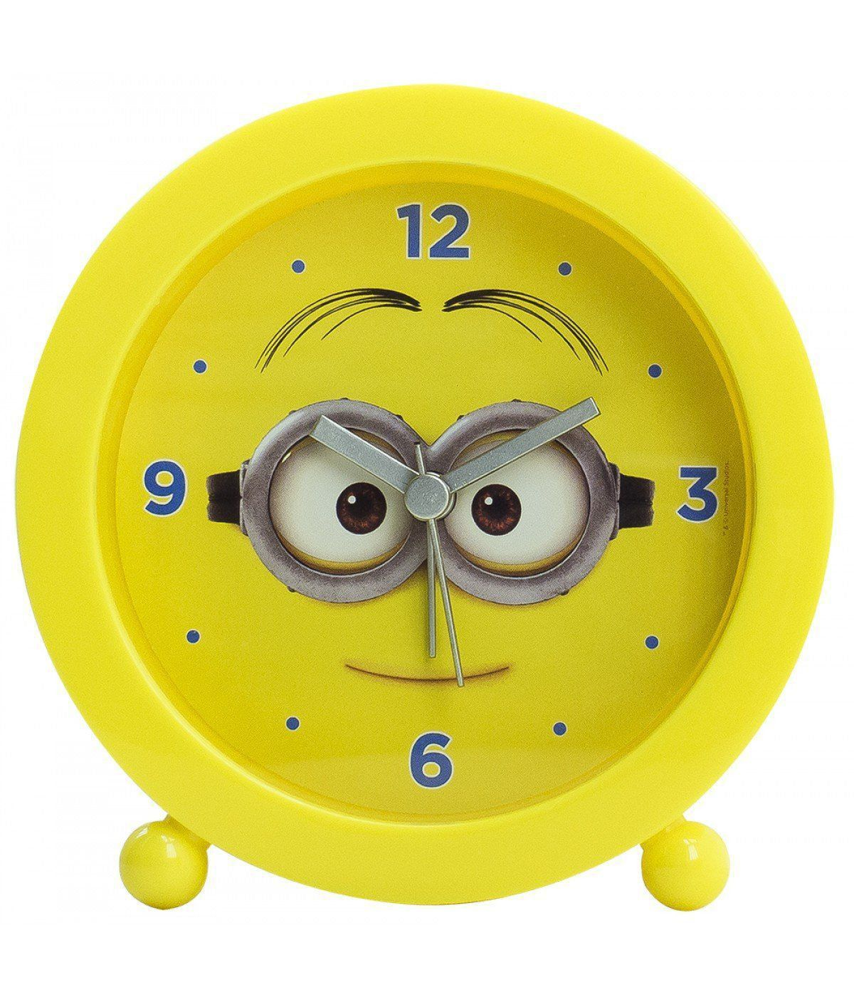 Relógio Despertador Minions (Sorrindo): Meu Malvado Favorito