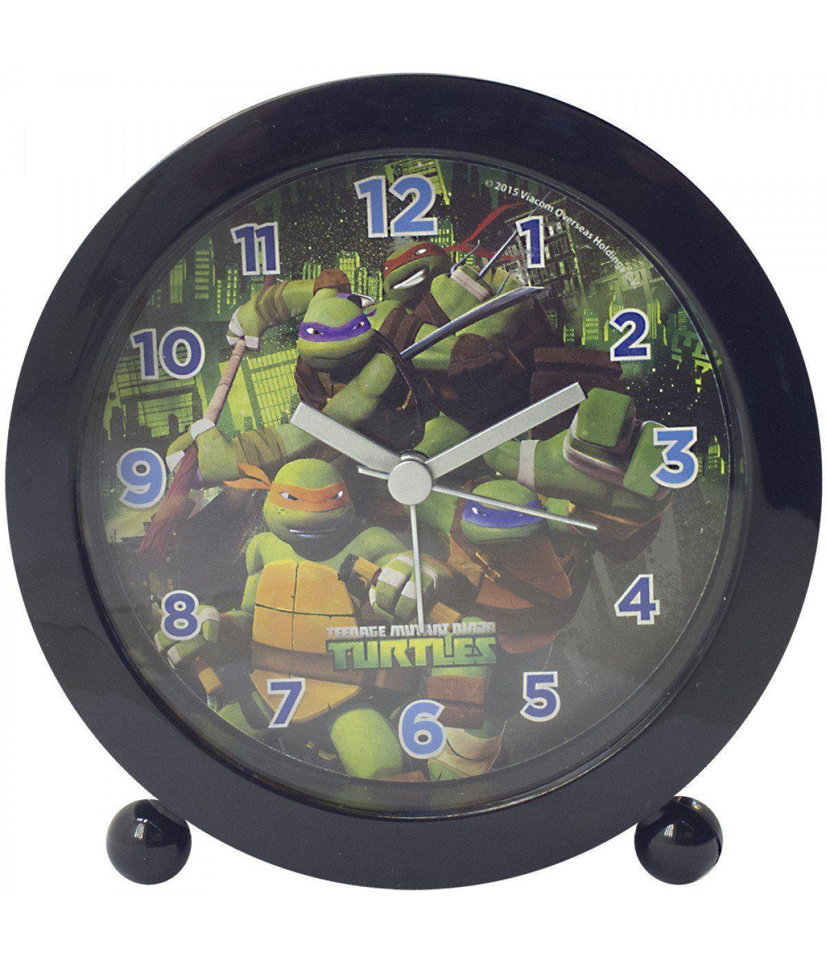 Relógio Despertador Tartarugas Ninja: Tartarugas Ninja