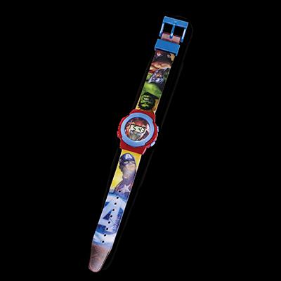 Relógio Digital Vingadores (Avengers): Marvel - DTC