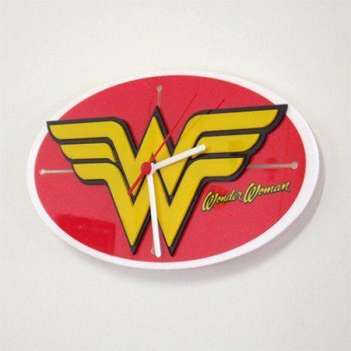 Relógio Wonder Woman - FP Design
