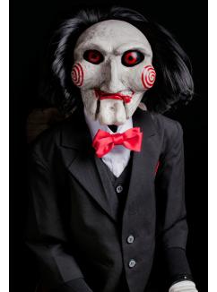 Réplica Boneco Billy: Jogos Mortais (JigSaw) - Trick or Treat Studios