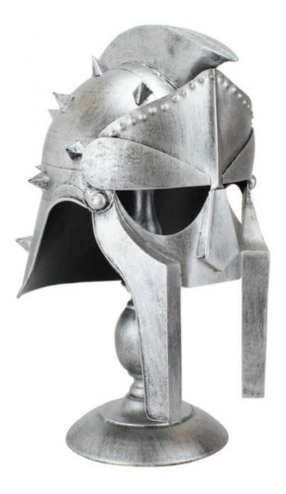 Replica Capacete Com Base Gladiador Romano Maximus Decimus Escala 1/1 - Gladiador