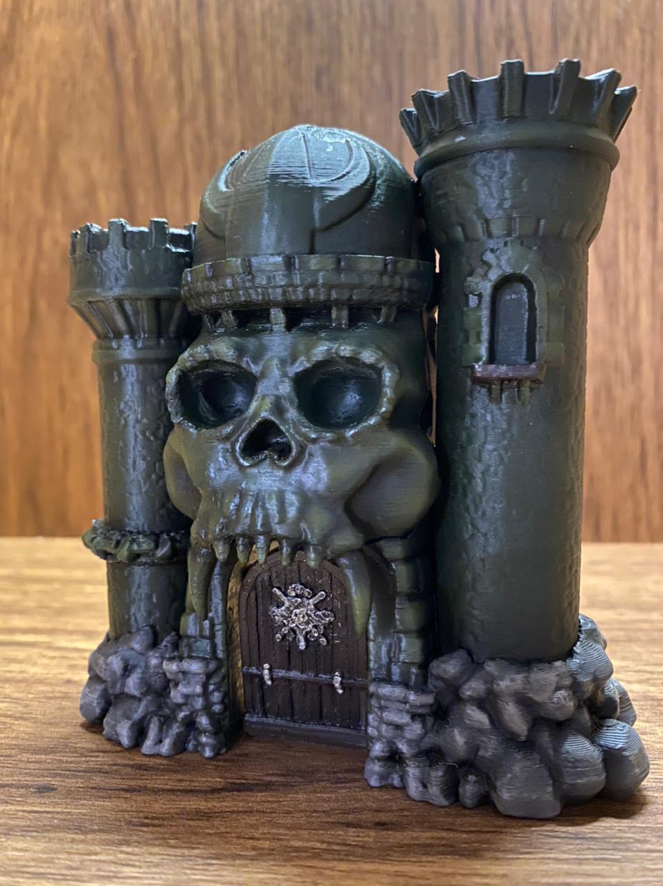 Réplica Castelo de Grayskull (Castle Of Grayskull): Mestres do Universo - He-Man (Mini Edition) Edição Limitada (Limited Edition)