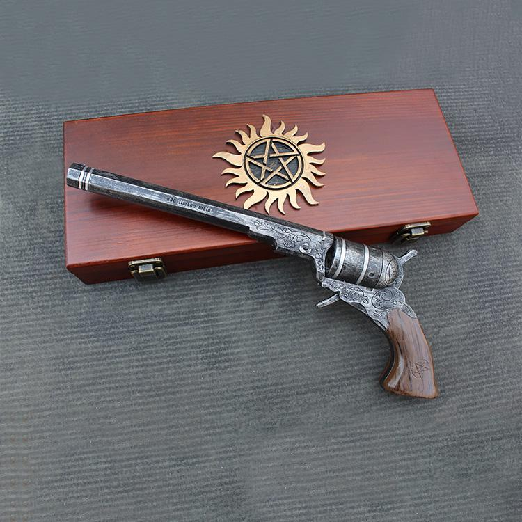 Réplica Decorativa Arma O Colt The Colt: Supernatural