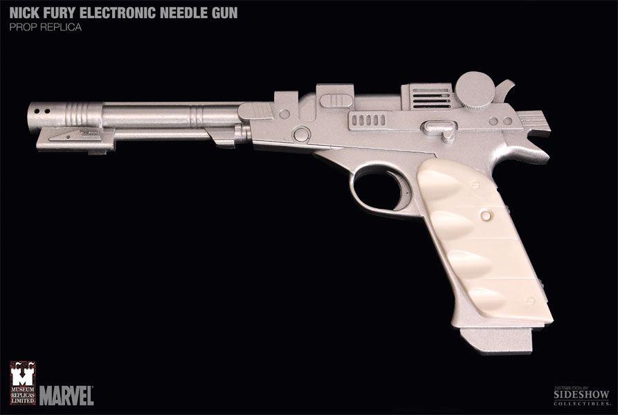 Réplica Decorativa NF-300 Needle Gun: S.H.I.E.L.D - Marvel Museum Replicas - CG