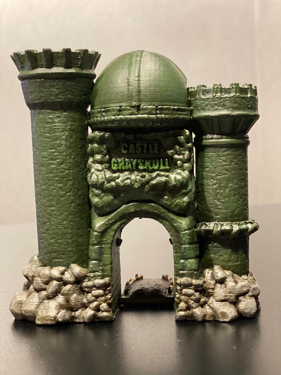 Réplica Edição Limitada Castelo de Grayskull Mini Edition 10cm He-Man Castle Of Grayskull Mini Limited Edition 10cm Pequeno