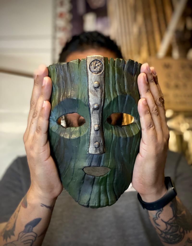 Réplica Edição Limitada Réplica Máscara Loki Stanley Ipkiss: O Máskara - Fanatic Studios
