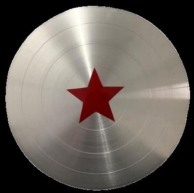 Réplica Em Metal Escudo Capitão América: Capitão América 2 O Soldado Invernal (Marvel) - Escala 1/1