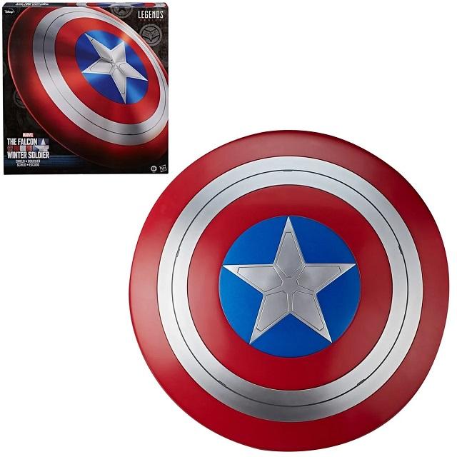 Réplica Escudo Capitão América: Falcão e o Soldado Invernal (The Falcon and the Winter Soldier) Marvel Legends Series (Escala 1:1) - Hasbro