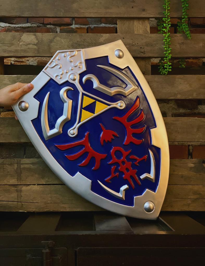 Réplica Escudo Decorativo Hylian Link: Legend Of Zelda